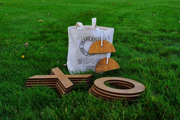 Wooden Yard Games - Snake Eyes Yard Dice Games and More